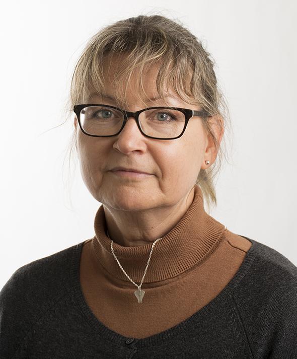 Porträttbild, Christina K Karlsson.